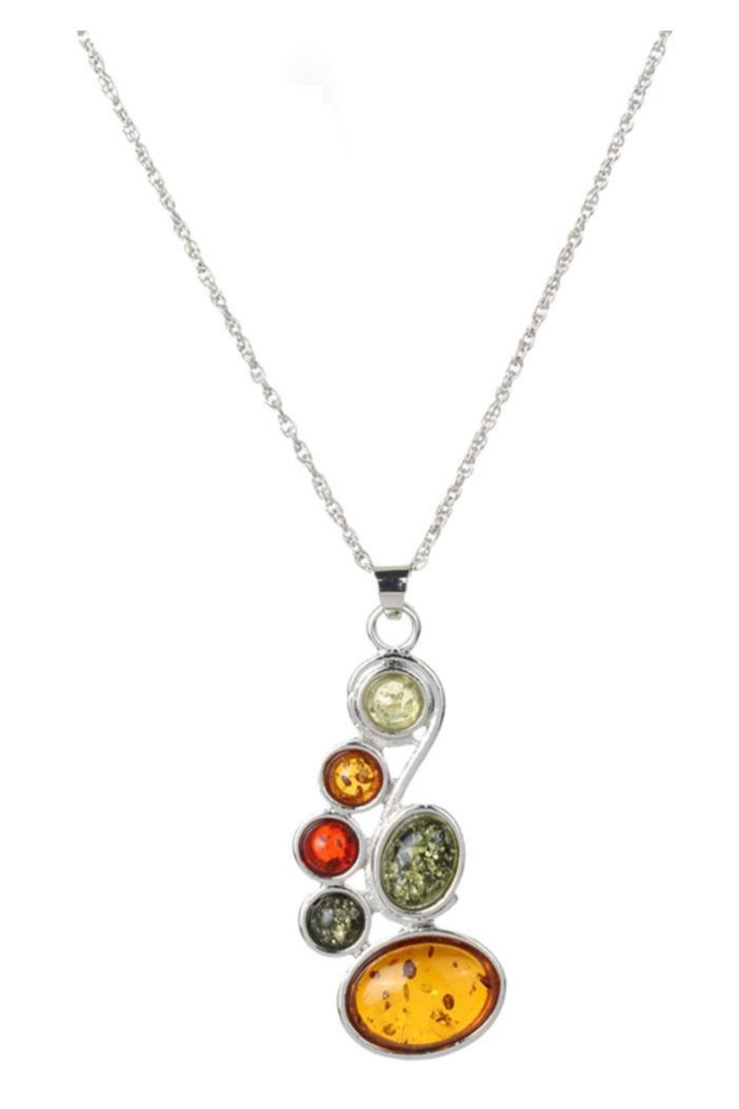 Anju Handcrafted Artisan Jewelry Multi-Color Crystal Necklace - Main Image
