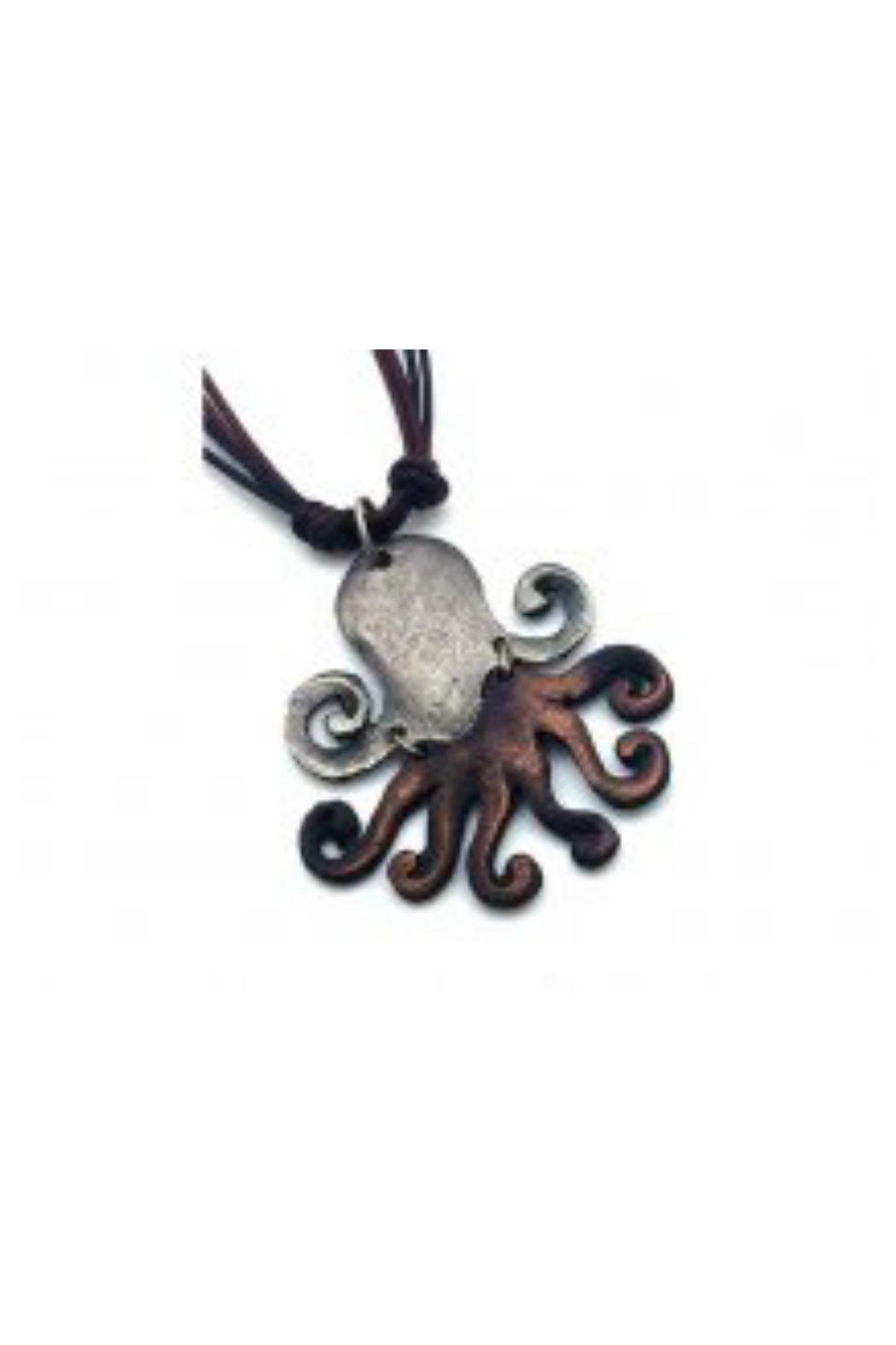 Anju Handcrafted Artisan Jewelry Octopus Necklace - Main Image