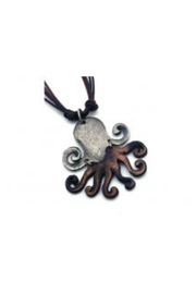 Anju Handcrafted Artisan Jewelry Octopus Necklace - Product Mini Image