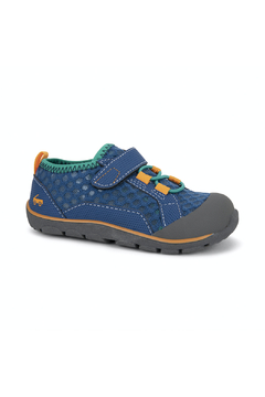 Shoptiques Product: Anker Navy/Teal Water Sneaker