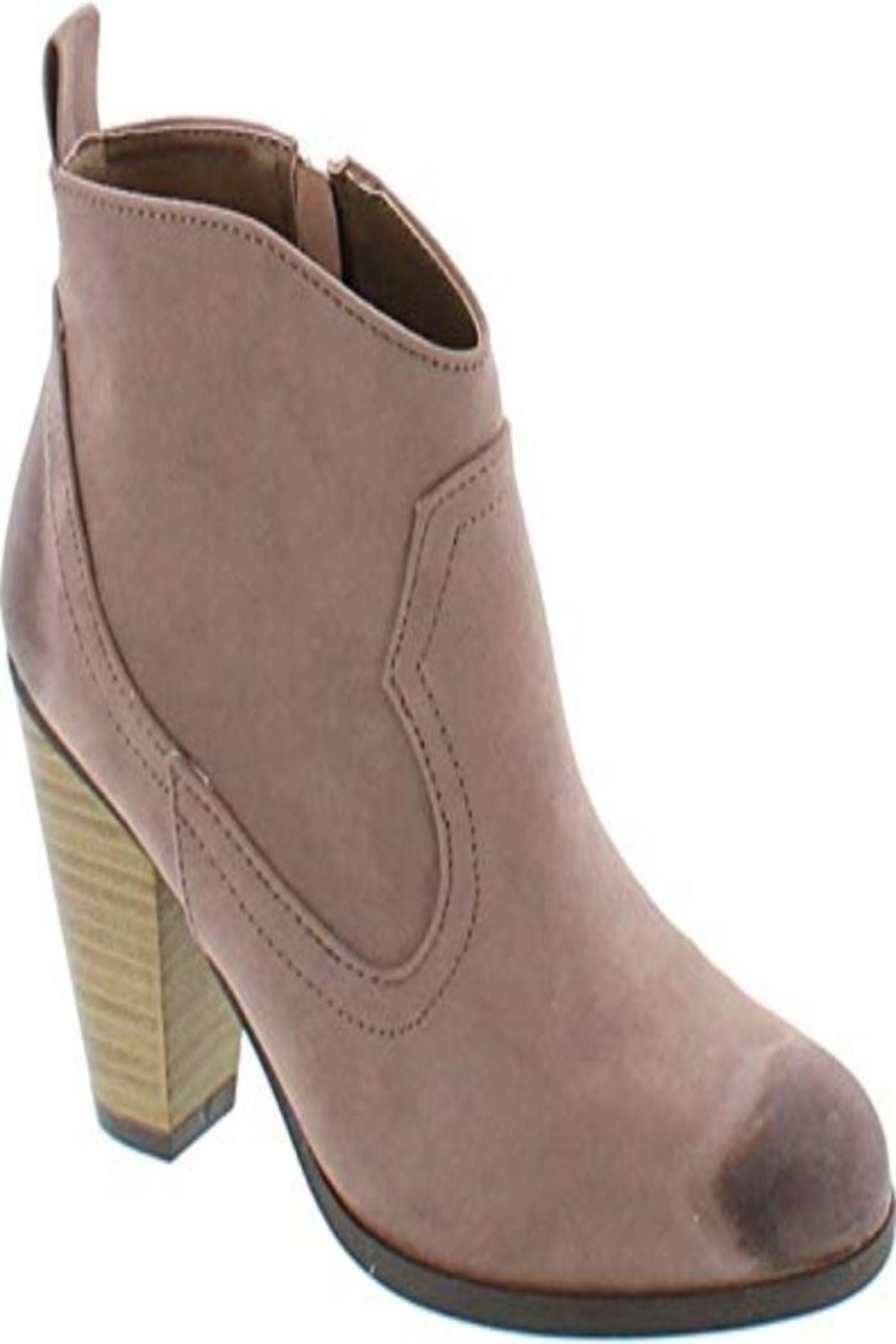 Qupid Ankle Boot - Front Cropped Image