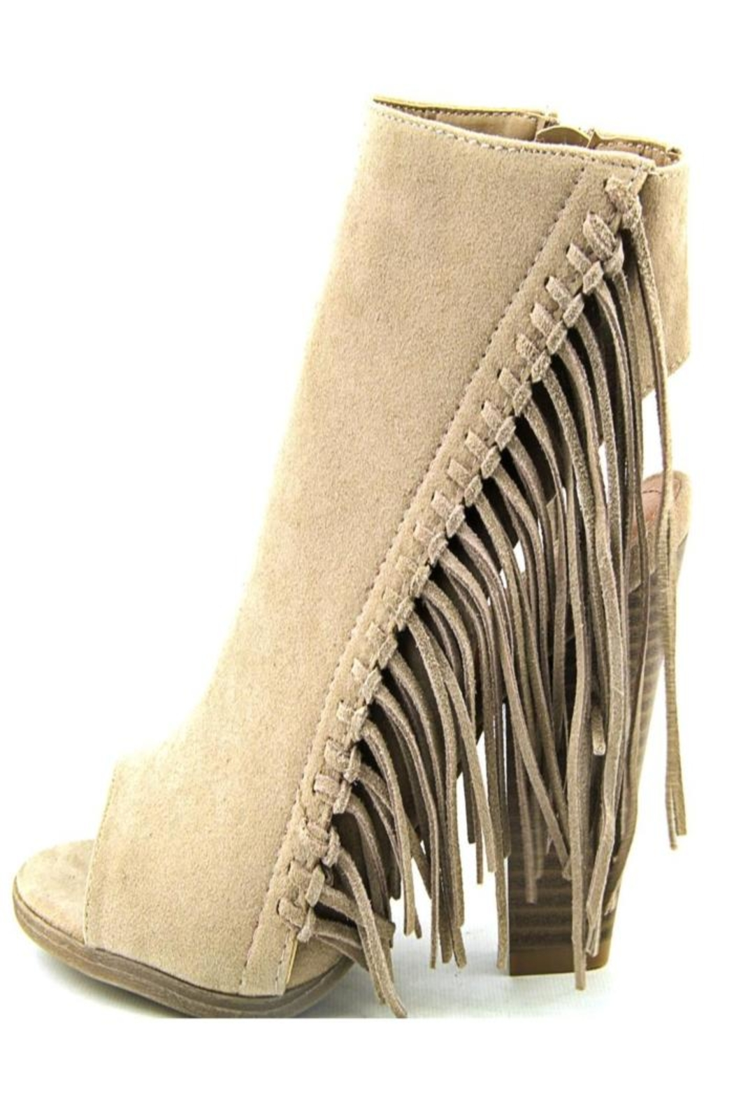 Rampage Ankle Boot Fringe - Front Full Image