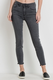 Just Black Denim Ankle Gray Jeans - Product Mini Image