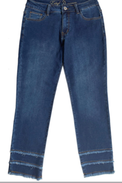Ethyl  Ankle jean with triple hem - Product List Image