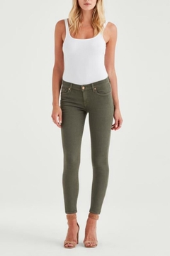 7 For all Mankind Ankle Skinny Army - Product List Image