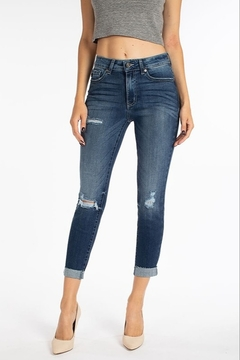 Kan Can Ankle Skinny Mid Rise Denim - Product List Image