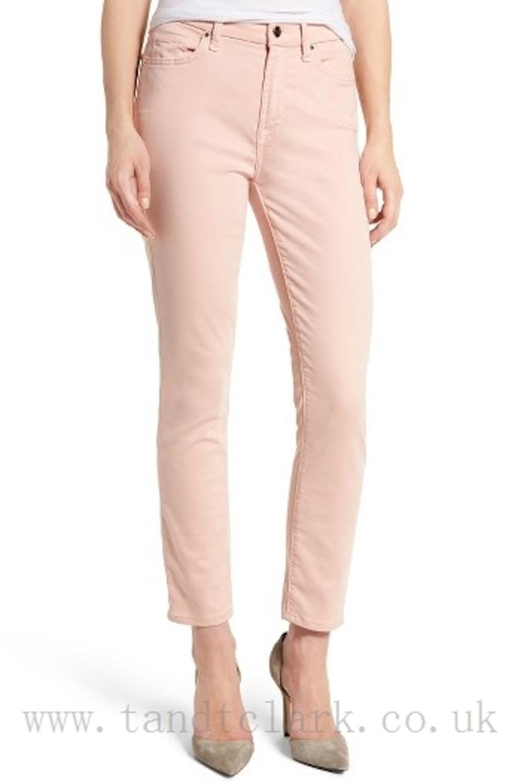 7 For all Mankind Ankle Skinny Pants - Main Image