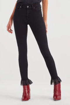 7 For all Mankind Ankle Skinny Ruffle - Product List Image