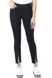 Liverpool Jean Company Ankle Slit Jean - Product Mini Image