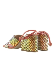 ras Ankle Strap Wedge - Front full body