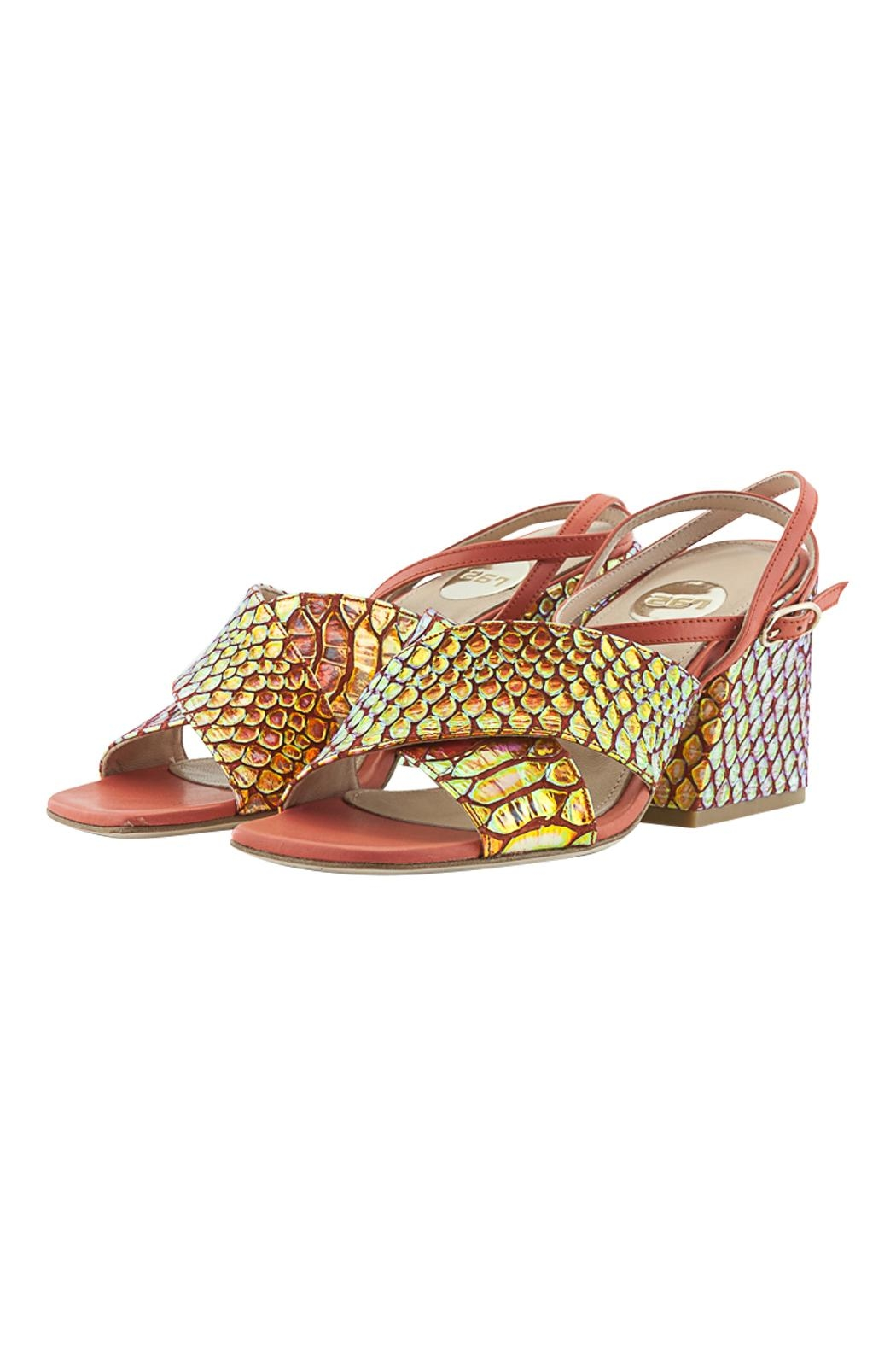 ras Ankle Strap Wedge - Side Cropped Image