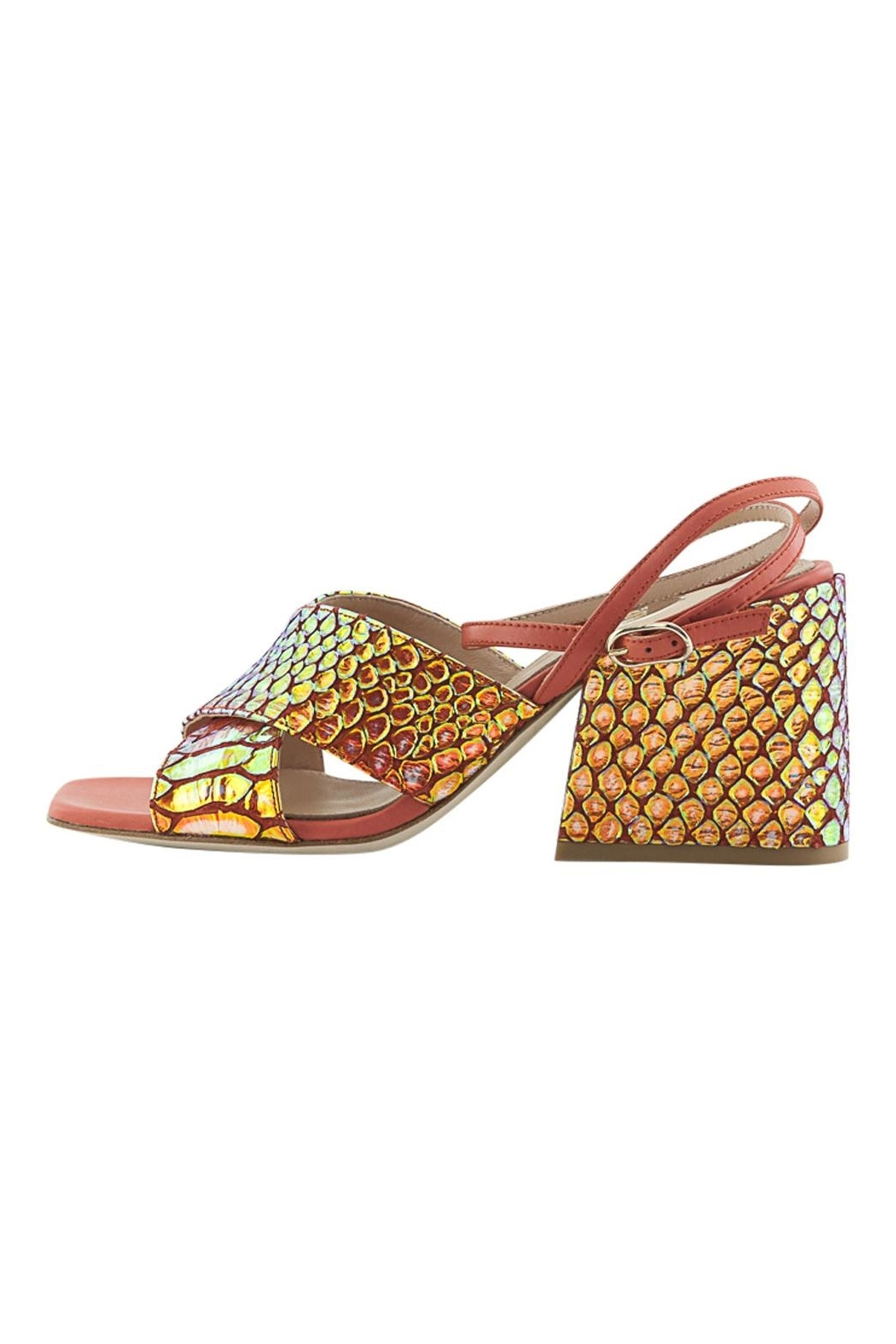 ras Ankle Strap Wedge - Main Image