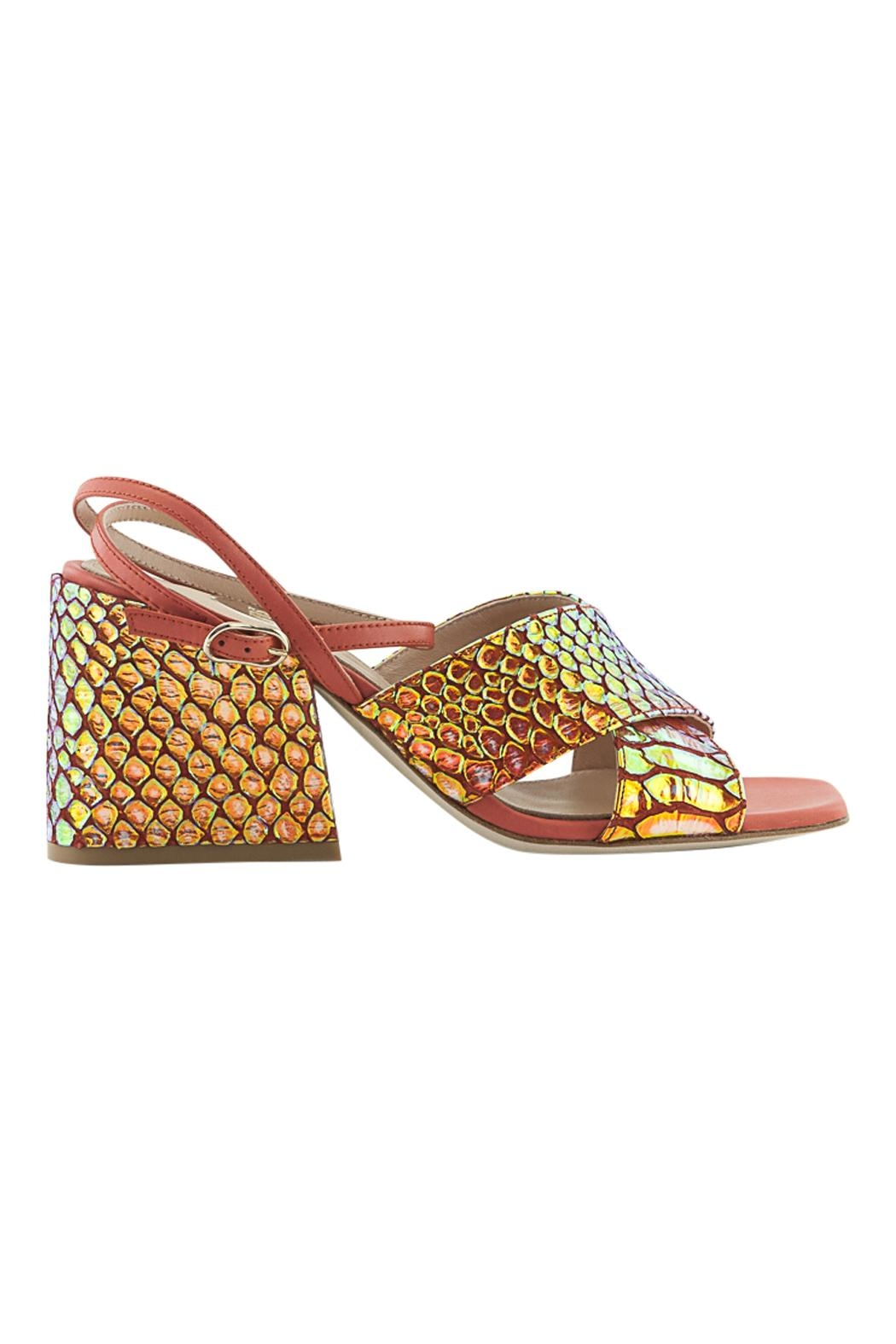 ras Ankle Strap Wedge - Front Cropped Image