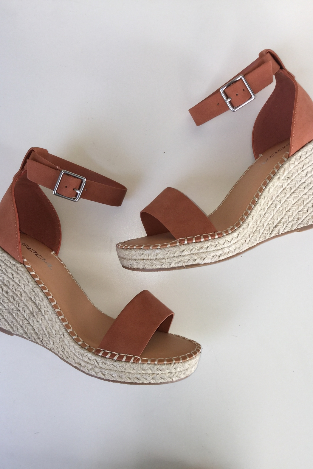 Soda Ankle Strap Wedge - Main Image