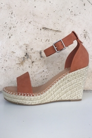 Soda Ankle Strap Wedge - Front full body