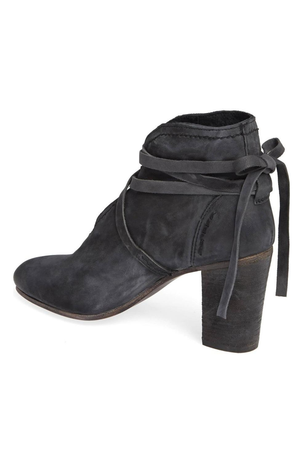 Free People Ankle Tie Bootie - Front Full Image