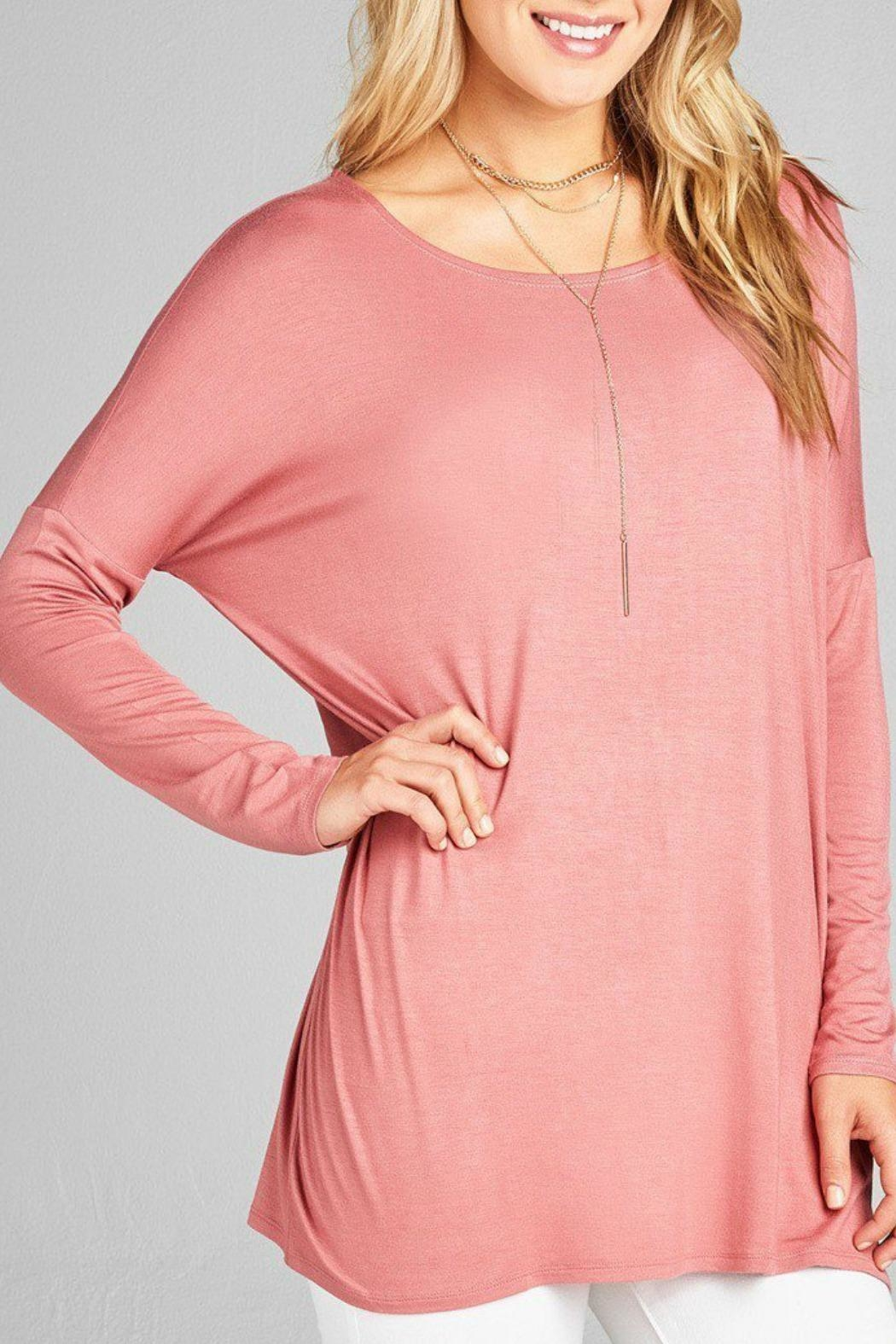Active Basic Anna Jersey Tunic - Front Cropped Image