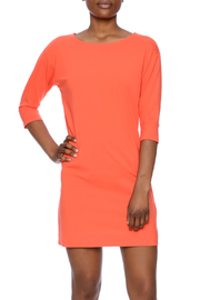 Anna Lane by MSC Collection Orange Cotton Tunic - Product Mini Image