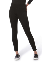 Lola Jeans Anna Mid Rise Pull on Skinny Pants - Front cropped