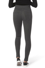 Lola Jeans Anna Mid Rise Pull on Skinny Pants - Side cropped