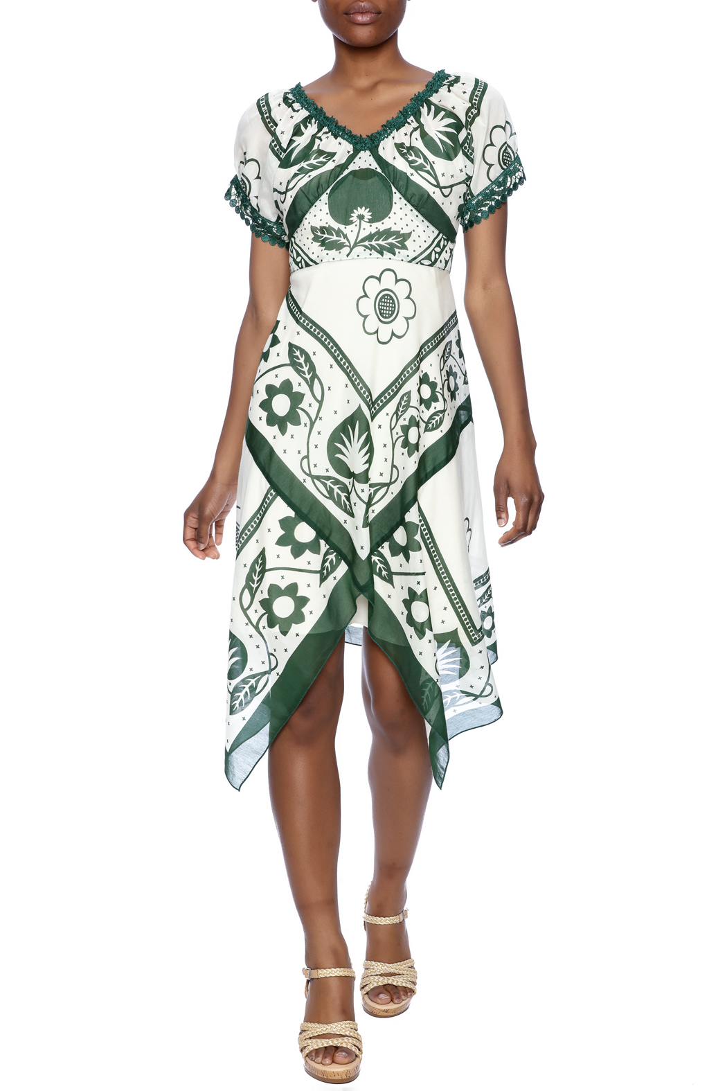 Anna Sui Handkerchief Dress Front Full Image