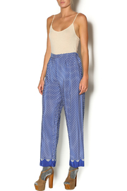 Anna Sui Aurora Polka Dot Pant - Front full body