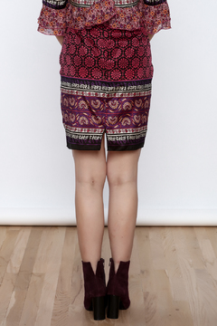 Shoptiques Product: Printed Silk Skirt