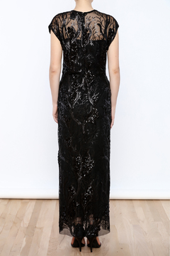 Anna Sui Sequin Maxi Dress - Alternate List Image