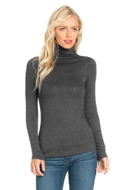 Fashion California Anna Turtleneck Top - Front cropped