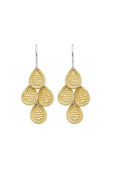 Anna Beck Gold Chandelier Earrings - Product List Image