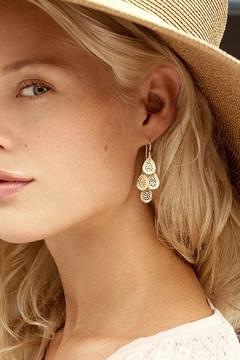 Anna Beck Gold Chandelier Earrings - Alternate List Image