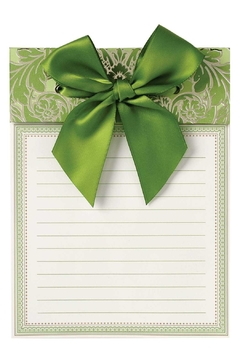 Anna Griffin Green Bow Pad - Alternate List Image