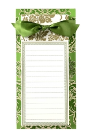 Anna Griffin Green List Pad - Product Mini Image