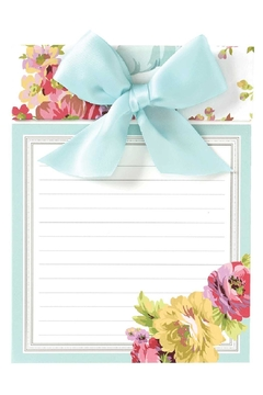 Anna Griffin Rose Ribbon Pad - Alternate List Image