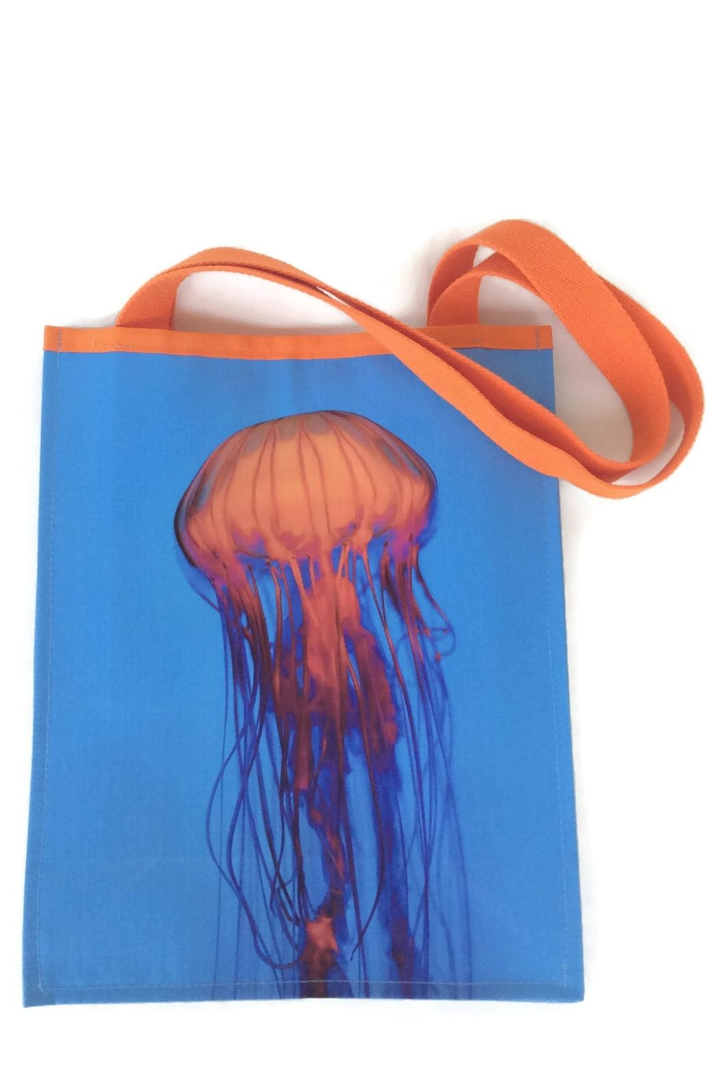 Bag It Totes Jellyfish Tote Bag - Front Cropped Image