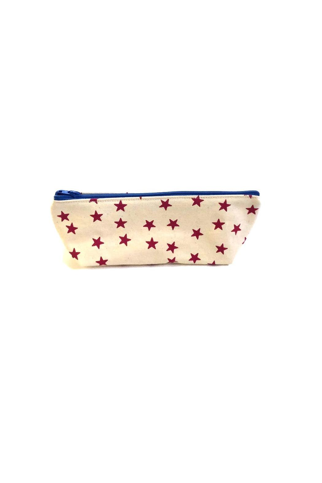 Anna Joyce Pink Star Pouch - Side Cropped Image
