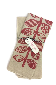 Shoptiques Product: Red Vine Dishtowel