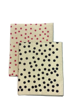 Shoptiques Product: Stars Dots Dish Towels