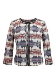 Anna Scott  Southwestern Crop Jacket - Product Mini Image