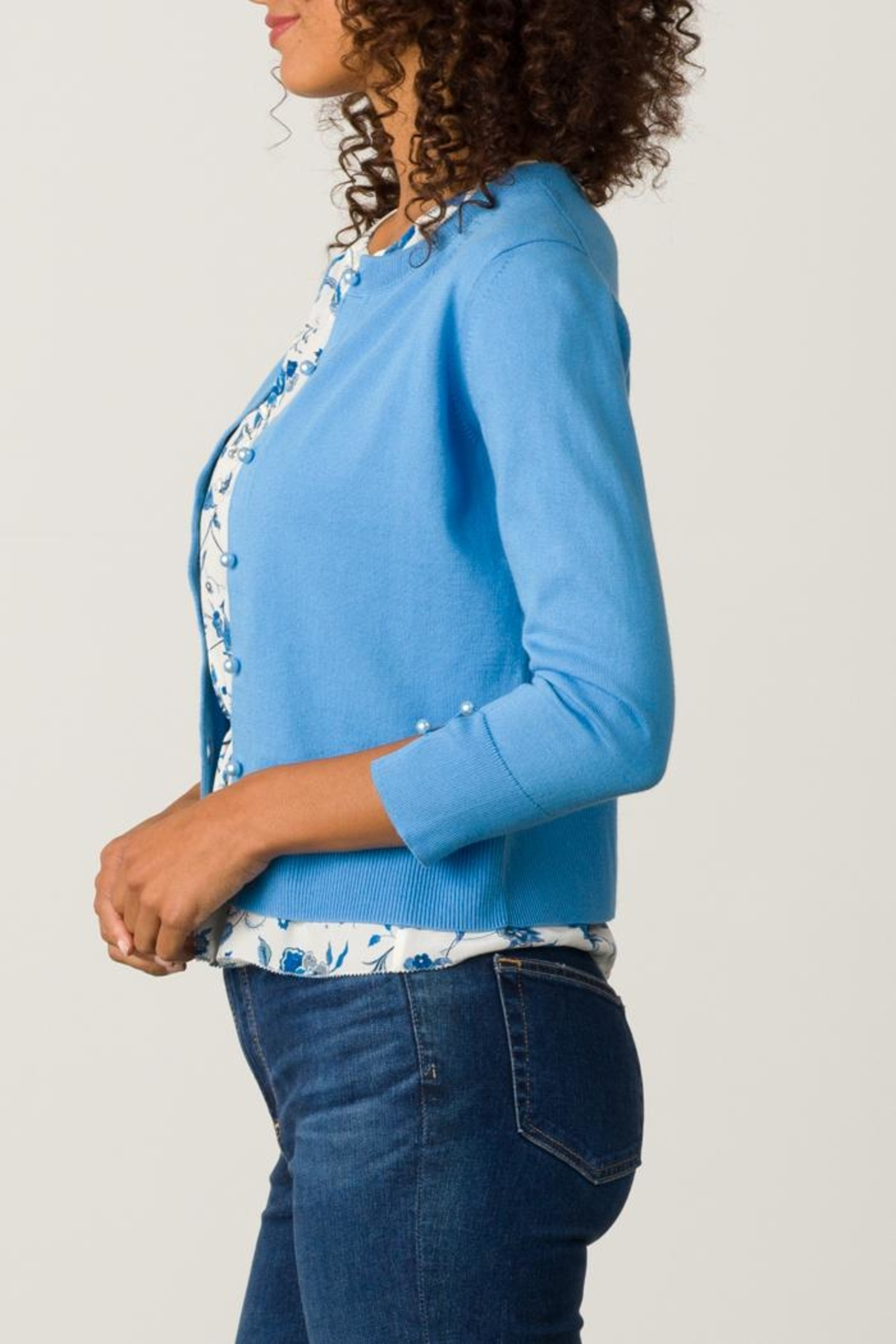 Margaret O'Leary Annabell Cardigan - Side Cropped Image