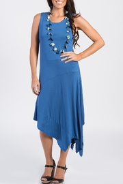 annabelle Asymmetrical Tank Dress - Front cropped