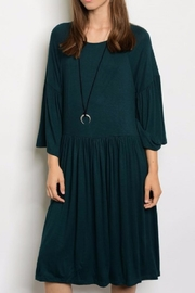 annabelle Bell Sleeve Dress - Product Mini Image
