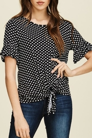 annabelle Dot Tie Shirt - Product Mini Image