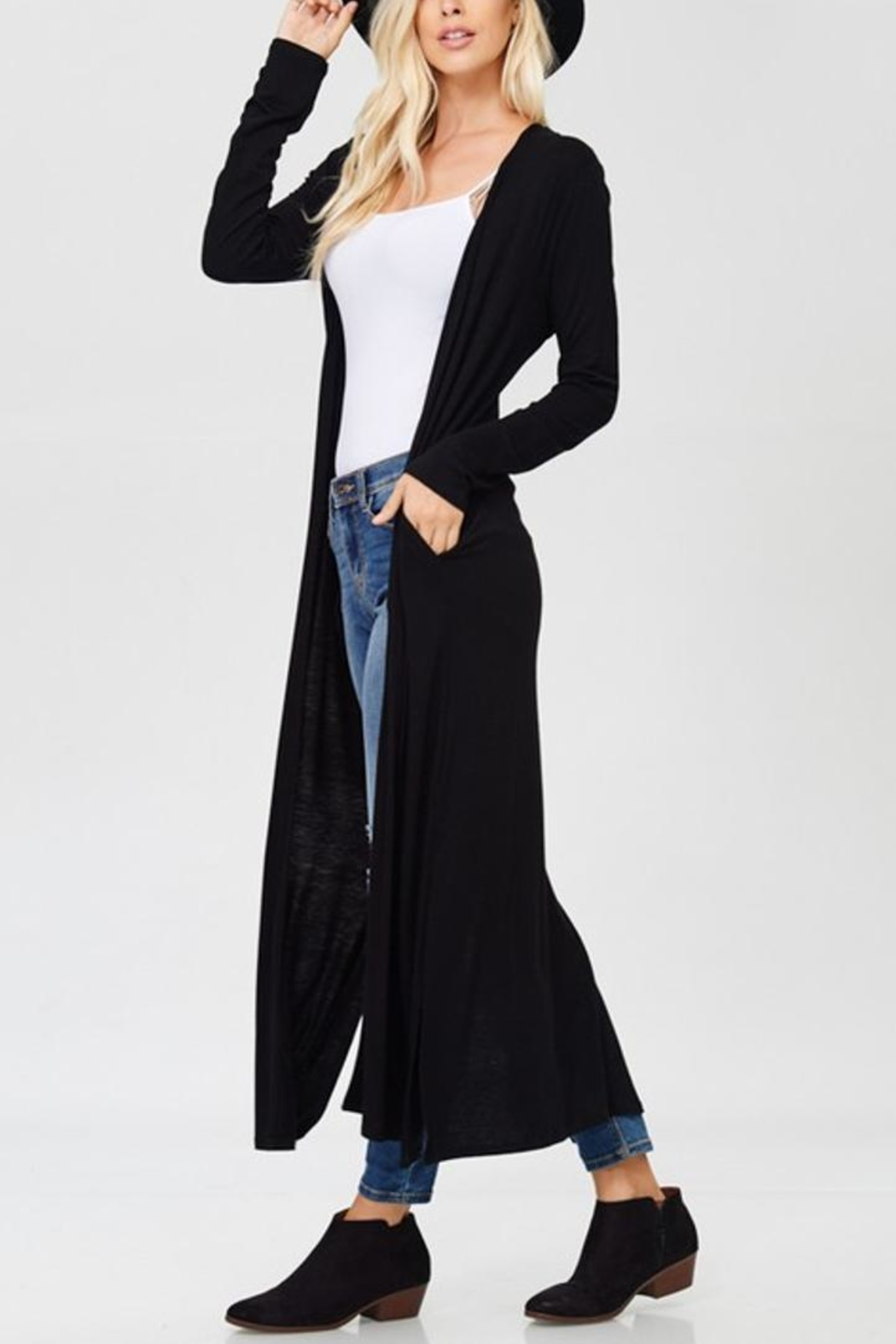 annabelle Double-Slit Duster - Main Image