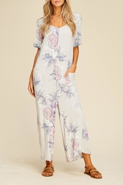 annabelle Floral Knit Jumpsuit - Product Mini Image