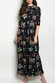 annabelle Floral Sleeve Maxi - Product Mini Image