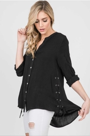 annabelle Lace Up Side Top - Product Mini Image