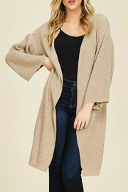 annabelle Annabelle Long Cardi - Side cropped