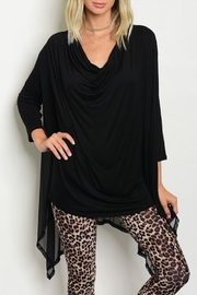 annabelle Mesh Tunic Top - Product Mini Image