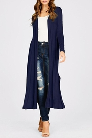 annabelle Open Front Maxi-Cardigan - Product Mini Image